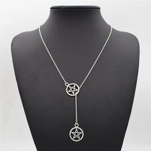 Jewelry - Silver Pentacle Necklace